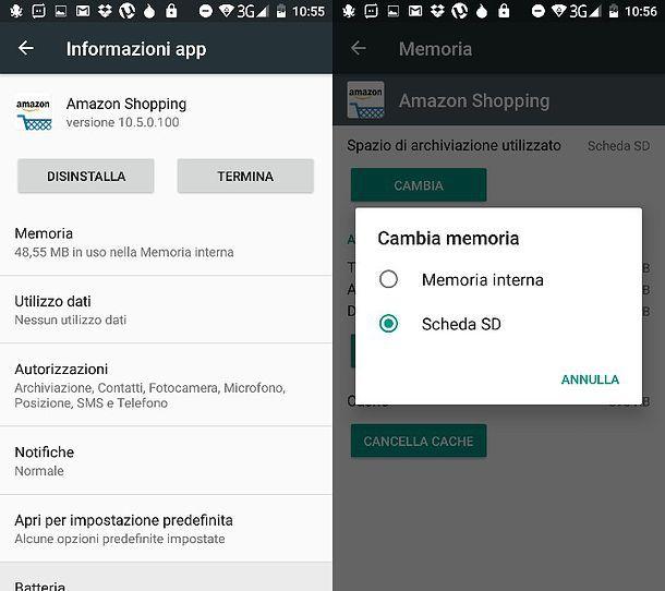 Come liberare spazio Android