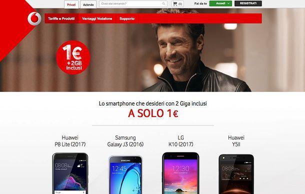 Offerte cellulari Vodafone