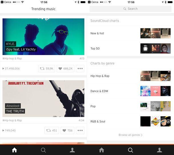 App per musica gratis