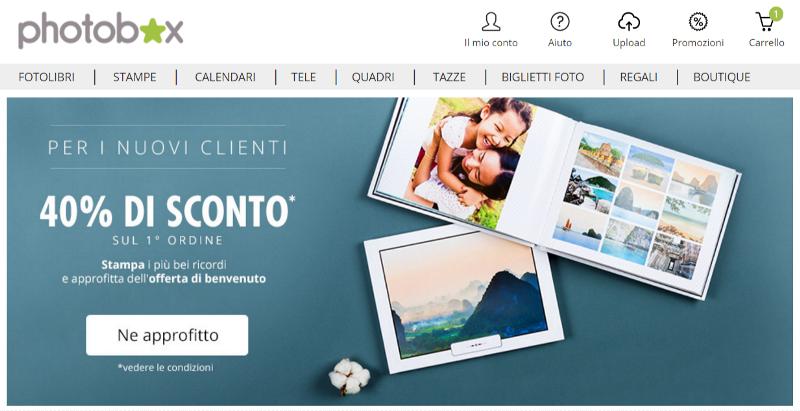 186e4fea9c Uno tra i siti Internet più utilizzati per stampare foto digitali è  PhotoBox. I servizi offerti da PhotoBox riguardano tutti la stampa digitale  e sono molto ...