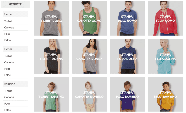 f342dbae5 Burger Print è un sito Internet dedicato alla stampa di t-shirt  personalizzate che si presenta con una grafica minimale e un'interfaccia  utente semplice e ...
