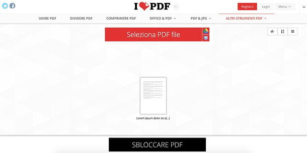 Come stampare un PDF protetto