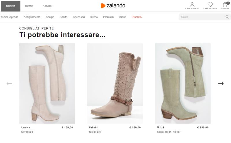 Zalando è uno tra i portali di e-commerce più famosi 4b84992f729