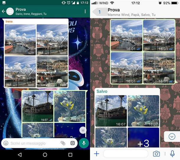 Whatsapp foto e video