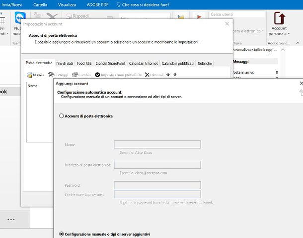 Come configurare mail Aruba
