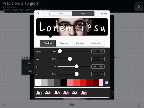 App per scrivere frasi sulle foto