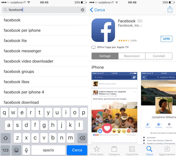 Come scaricare Facebook gratis per cellulare