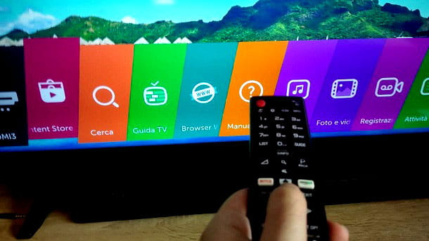 LG Content Store Smart TV