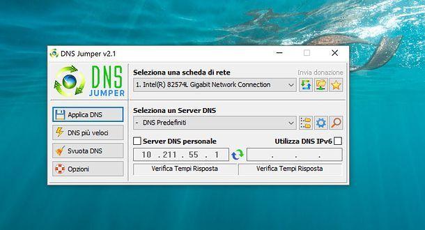 Come trovare DNS