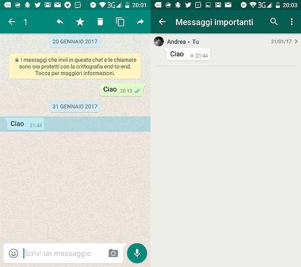 Come cercare su WhatsApp