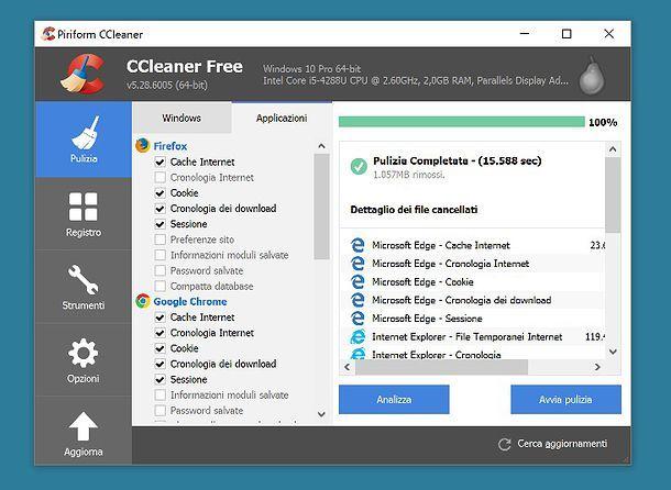 Come scaricare e utilizzare CCleaner