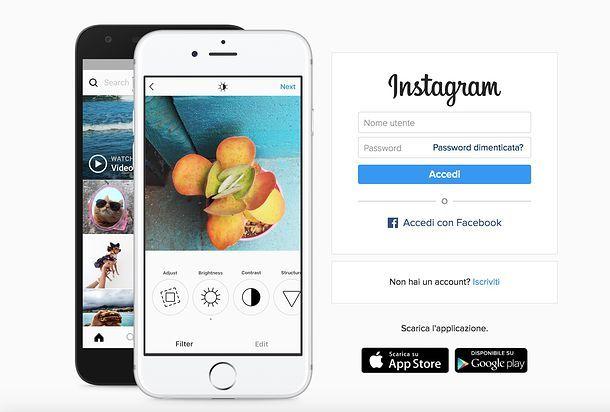 Come disattivare account Instagram
