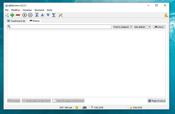 se metto il pc in standby utorrent continua a