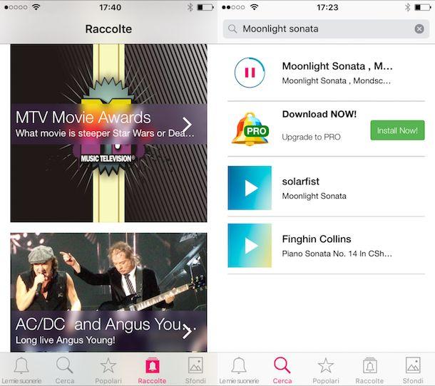 App per scaricare canzoni