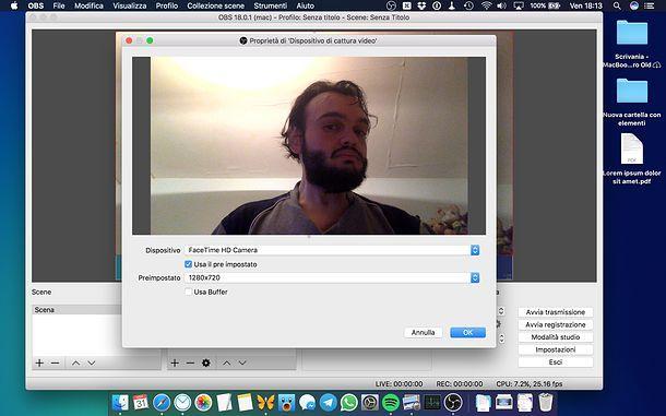 Come filmare lo schermo Mac