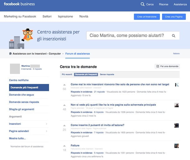 Come verificare pagina Facebook