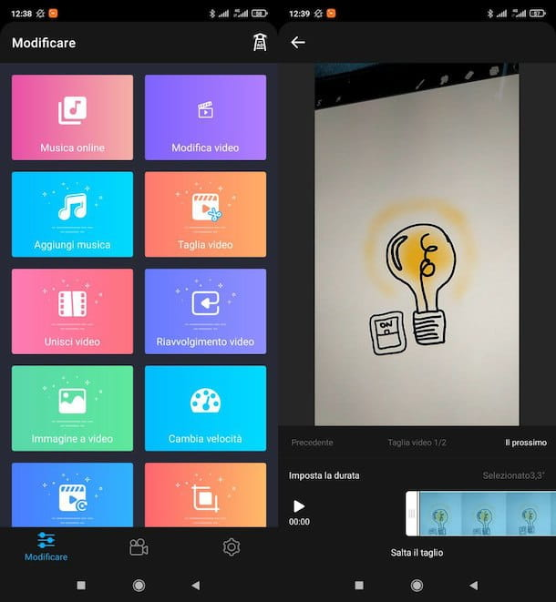 Altre app editing video Android
