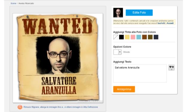 Come creare foto salvatore aranzulla for Programma per disegnare in 3d facile