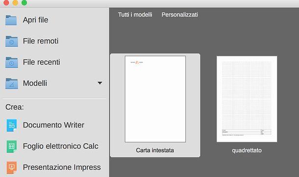 Come creare un foglio di carta intestata