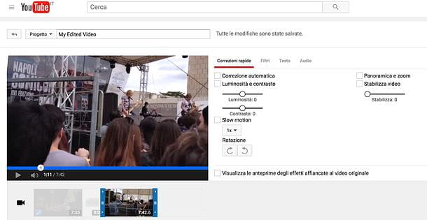 Come tagliare un video da YouTube