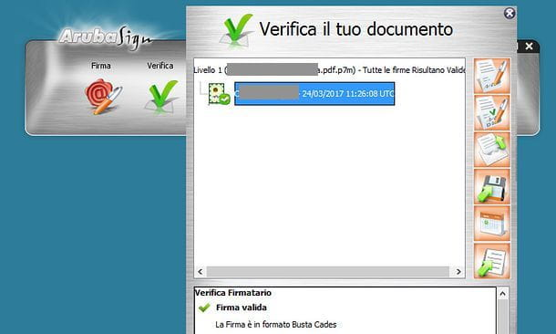 Come verificare firma digitale