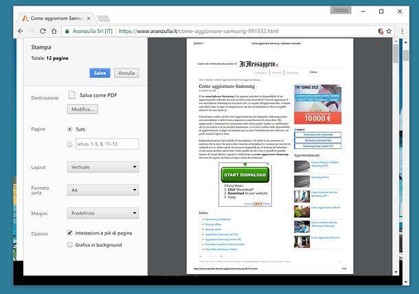 Creare PDF partendo dai documenti di tutti i giorni