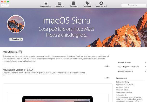 Come inizializzare Mac