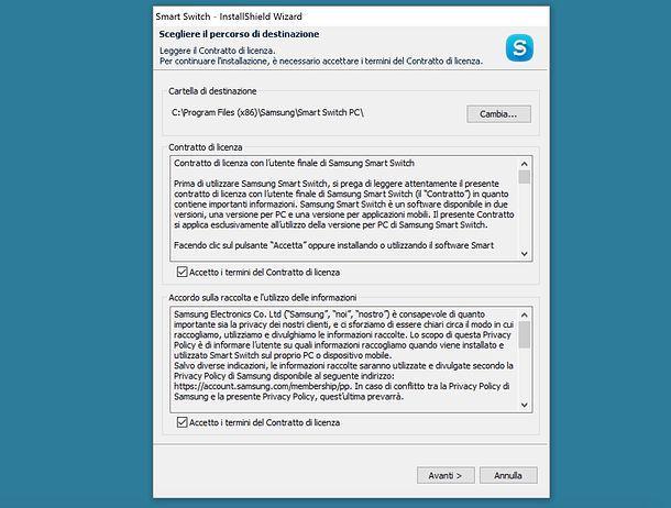Come trasferire dati da Samsung a Samsung
