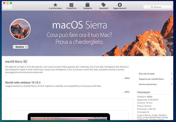 Come resettare Mac