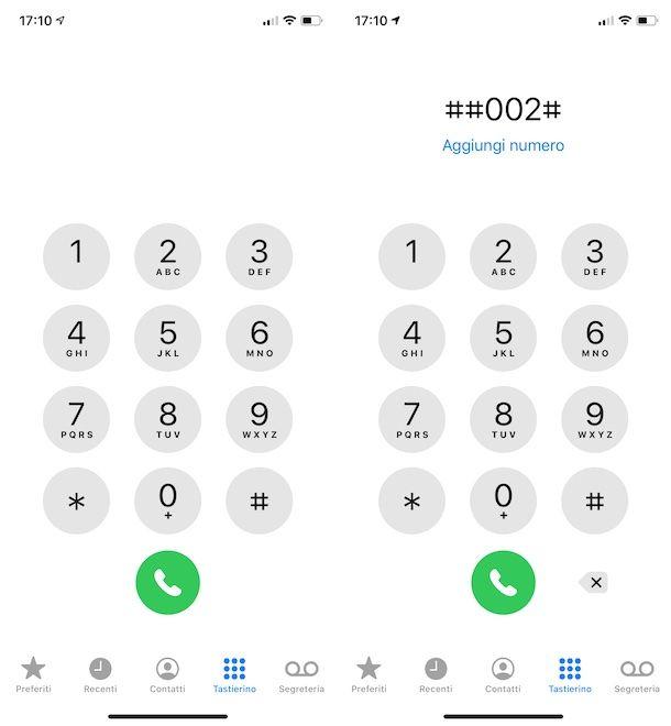 Codice segreteria Vodafone