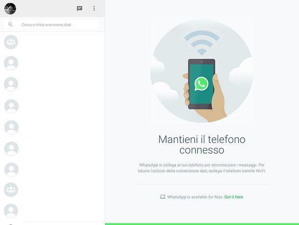 Applicazione per WhatsApp