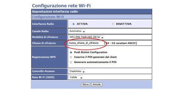 Come configurare router Alice