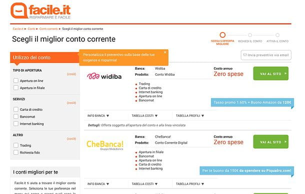 Migliore banca online
