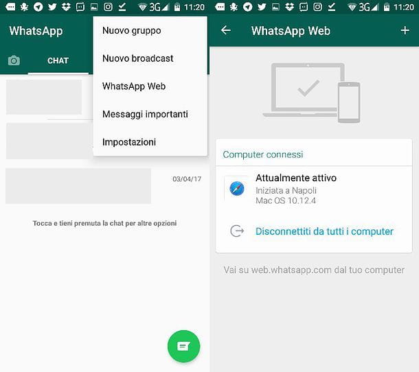 Come spiare amici su whatsapp