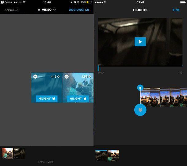 Applicazione per unire video