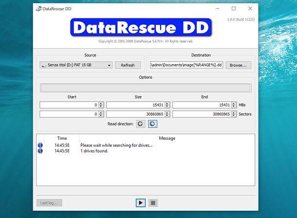 Come recuperare dati HD