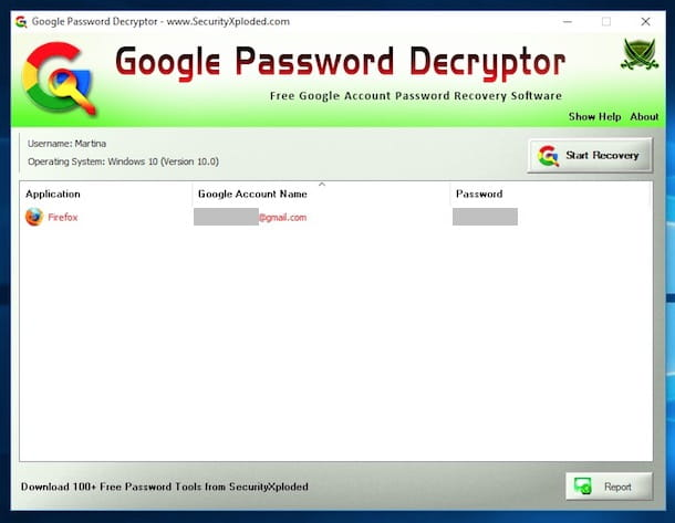Come recuperare password Gmail senza cambiarla