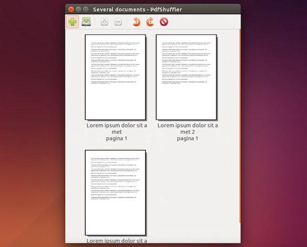 Programmi per unire PDF