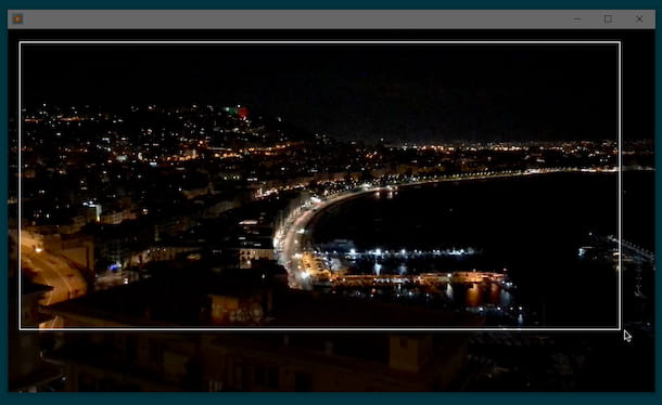 Screenshot video con Windows Media Player