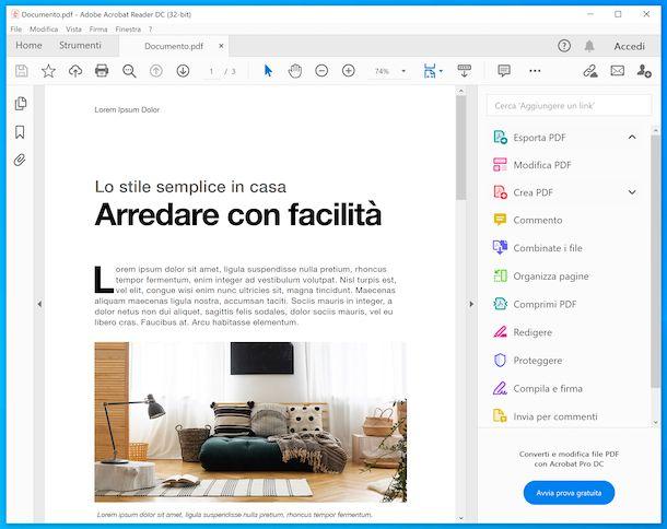 Adobe Acrobat Reader DC