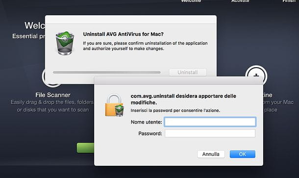 Come disinstallare AVG