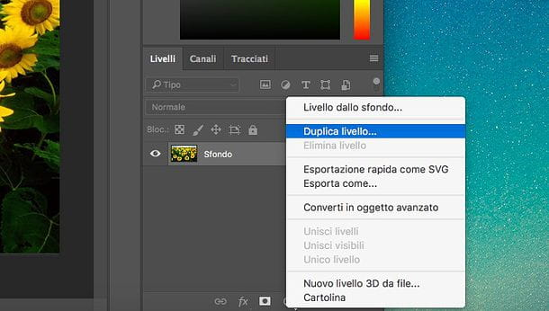 Come fare bordo con Photoshop