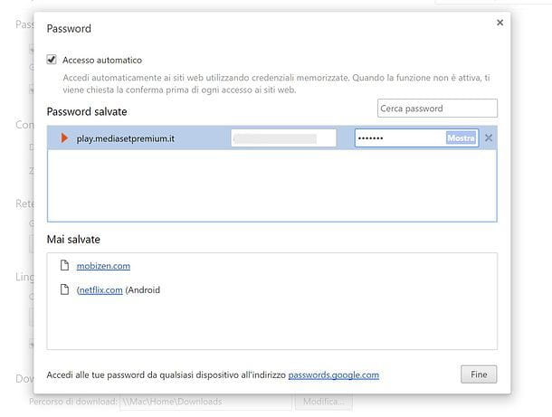 Recuperare password salvate su Internet Explorer, Firefox e Chrome