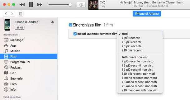 Come sincronizzare iPhone con Mac