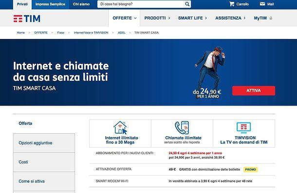 Offerte Telecom casa