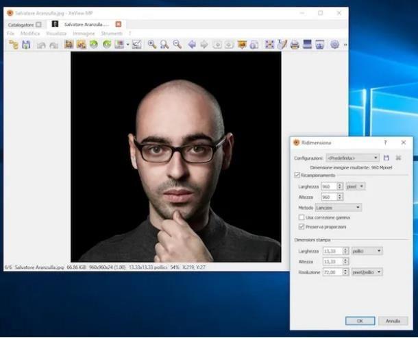 Come ridurre dimensioni foto per email