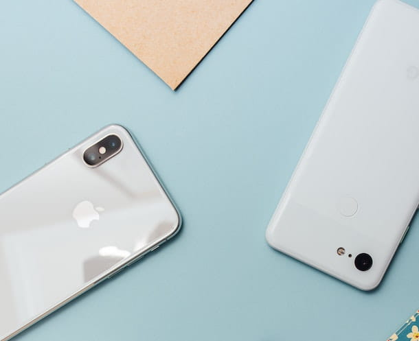 iPhone e smartphone Android