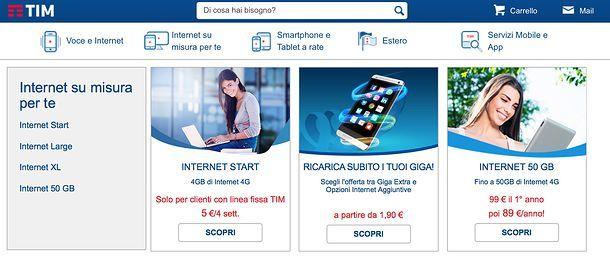 Migliori offerte internet mobile salvatore aranzulla for Offerte mobile