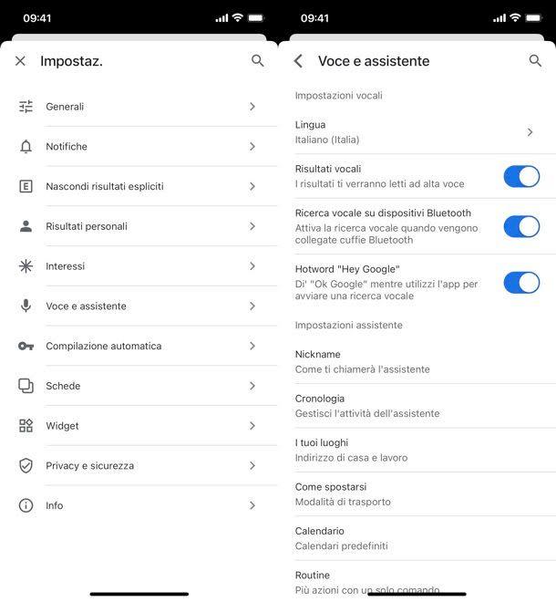 Attivare Ok Google iPhone