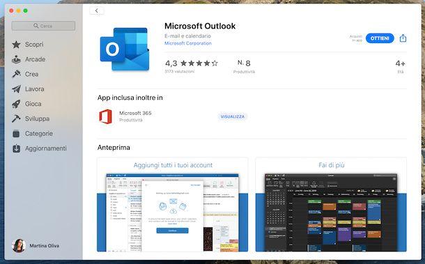 Outlook Mac App Store